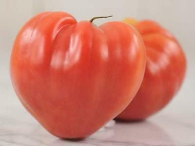 TOMATO 'Oxheart Pink' Heirloom 25 seeds vegetable garden NON GMO open polinated