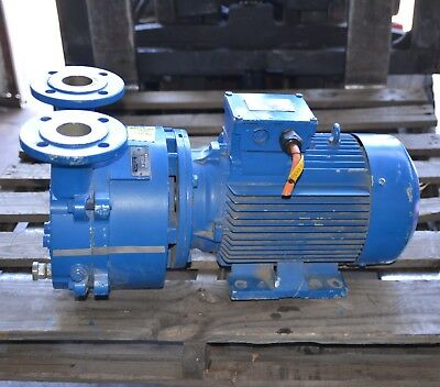 "Speck Type 43078 Liquid Ring Vacuum pump 7.5kW 3 phase 2"" ports"
