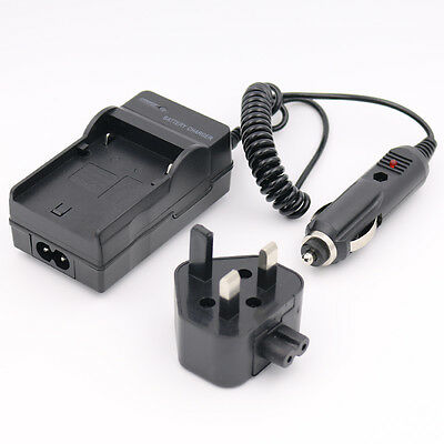 Battery Charger for CANON EOS 10D 20D 5D 300D D30 D60 D300 KISS DIGITAL REBEL UK