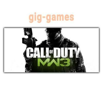 Call of Duty®: Modern Warfare® 3 PC spiel Steam Download Link DE/EU/USA Key