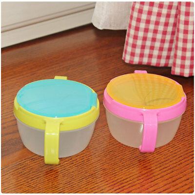 Tableware Snack Cup Children Kids Feeding Bowl Storage Holder Food ABS