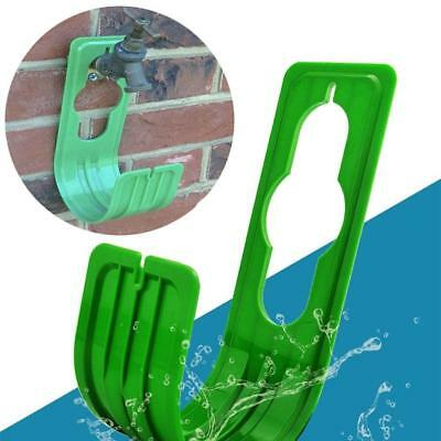 Expanding Holder Pipe Hanger Outdoor Garden Wall Mounted Hose Wall Mounted