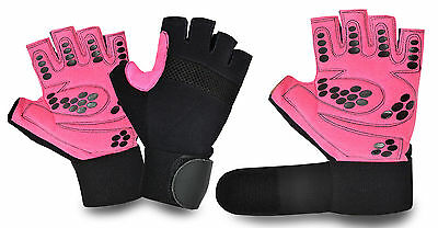Unisex Half Finger Fitness Gym Weight Lifting Gloves Multipurpose Sports Cycling