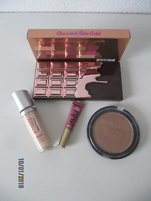 Makeup Set Chocolate Rose Gold MUR Eyeshadow Palette Too Faced Rimmel NEU NEW
