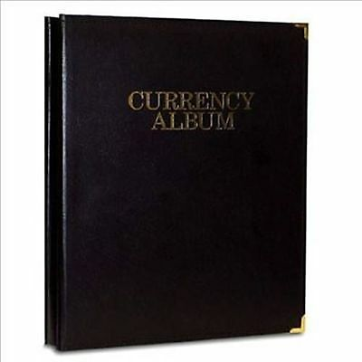 WHITMAN Premium Currency Album Large Notes Clear View Pages 0794827802