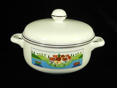 Villeroy and Boch Design Naif Casserole Dish With Lid, Boaters, Local Free Shpg