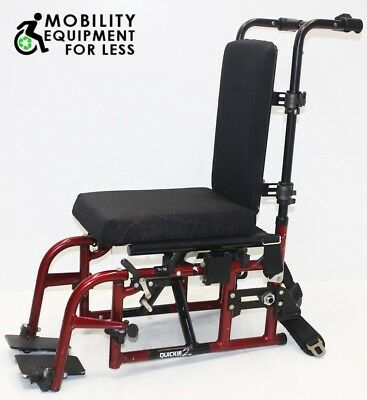 """Quickie 2 Manual Wheelchair Seat Frame 