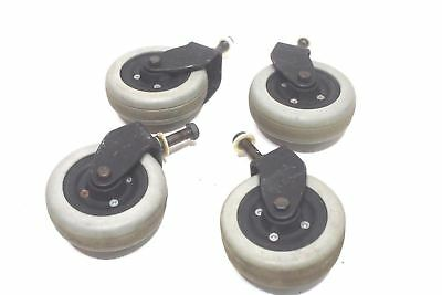 Invacare Pronto M71 Flat-Free Caster Wheel Assembly for Power Chairs