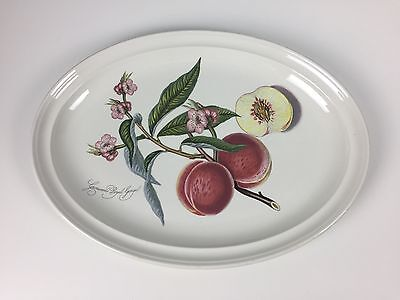 Portmeirion Pomona Large 15 inch Oval Serving Platter Very Rare Royal George HTF