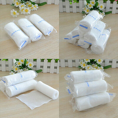 2Roll*Medical First Aid Treatment Elastic Bandage Gauze Tape Athletic Care Tape#