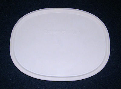 1 NEW Corning Ware French White Oval Plastic Storage Lid Cover F-12-PC FREE SHIP
