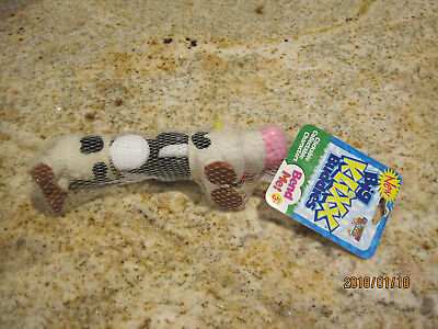 New 1998 Chase Toys Big Klixx Buddies Bendable Cow Toy Figurine