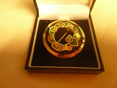 Celtic Sea Gems Brooch  New