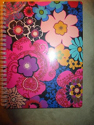 Vera Bradley Floral Fiesta Mini Notebook W/Perforated Lined Note Papers -NWT