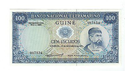 Portugal Guinea - One Hundred (100) Francs  1971  !!UNC!!