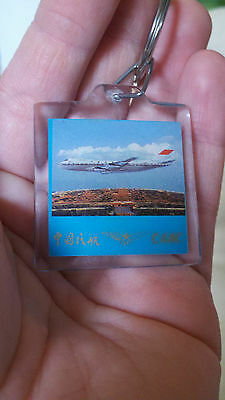 Vintage CAAC AIRLINES KEYCHAIN - Civil Aviation Administration of China