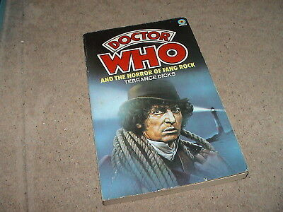 And the Horror of Fang Rock, Terrance Dicks Dr Who Paperback Book