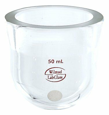 Wilmad-LabGlass ML-1281-700 Cylindrical, Conical Flange Reaction Kettle, 50mL