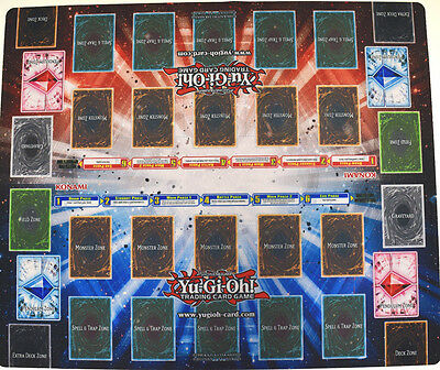 Yu-gi-oh! Yugioh Secrets of Eternity 2 Player Pendulum Rubber Double Playmat NEW