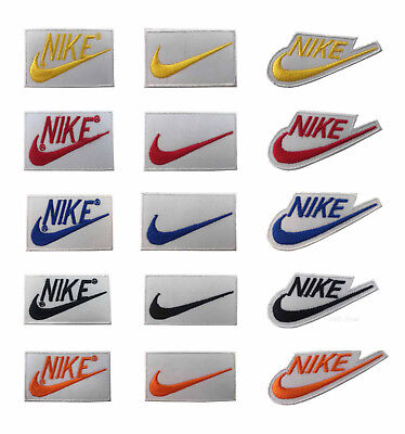 NIKE SPORTS LOGO IRON/SEW ON PATCH Embroidered Badge
