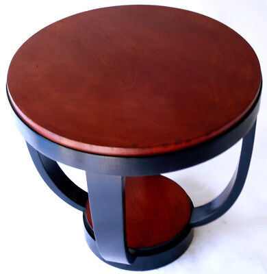 FRENCH ART DECO SIDETABLE DOMINIQUE STYLE or Manner