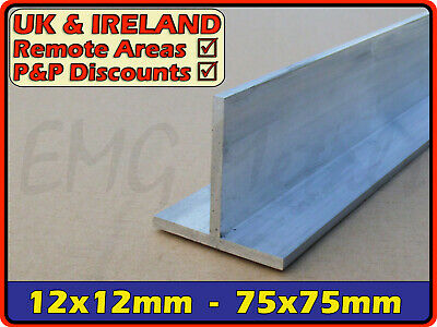 Aluminium Tee Bar ║ 12mm - 76mm ║ T profile,section,alloy,trim,joint,edging,edge