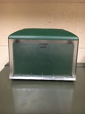 TORK 45XPT Xpressnap SCA Ad-a-Glance Tabletop Napkin Dispenser w/ Ad Feature