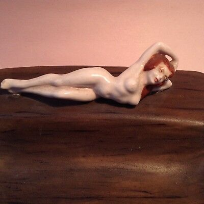 Vintage 50's NAKED LADY ASHTRAY NUDE Pin Up Girlie MID CENTURY Playboy EROTICA