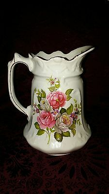 Old Foley James Kent Ltd. HARMONY ROSE Pitcher Made In England