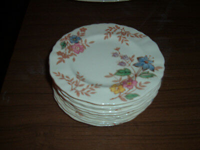 Lot of 11 J & G Meakin Cotswold 6 inch bread or pie plates ENGLAND