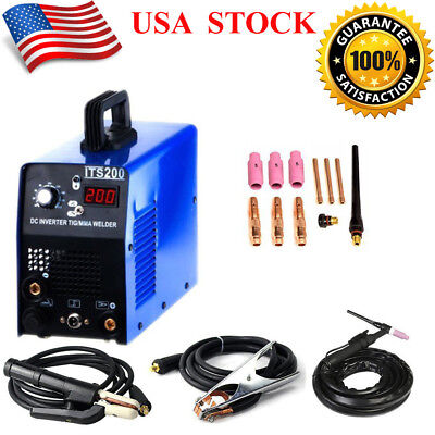 ITS200 TIG MMA Welding Machine Stainless Carbon Steel Welder 110V