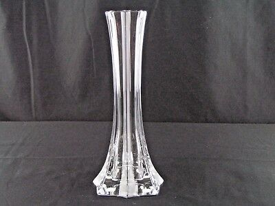 "Elegant Baccarat French Crystal ""bouquet"" Bud Vase 8.25""t Near Mint!"