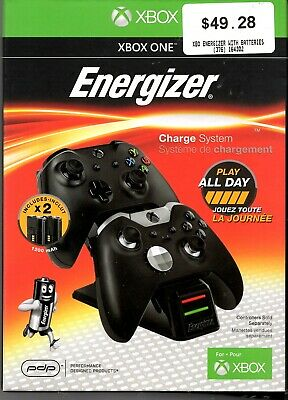 Genuine Xbox One Energizer Charge System Play all day Brand new au seller