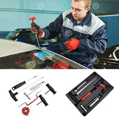 7Pcs Windscreen Glass Removal Remover Car Van Windshield Garage Hand Tool Kit GL