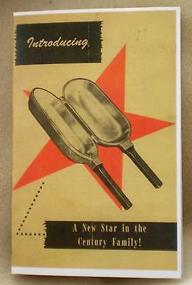 Guardian Ware Double Omelet Fry Pan Recipe Loaf  Stove Top Cook Dishes Pamphlet