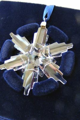 SWAROVSKI 2006 Retired LITTLE MINI Clear Crystal Christmas Ornament 843555-New!