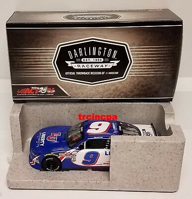 William Byron 2017 Lionel #9 Liberty University Darlington Autographed 1/24 FREE