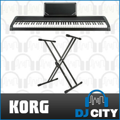 Korg B1 Digital Piano Keyboard Workstation 88-Key Natural Hammer Keys