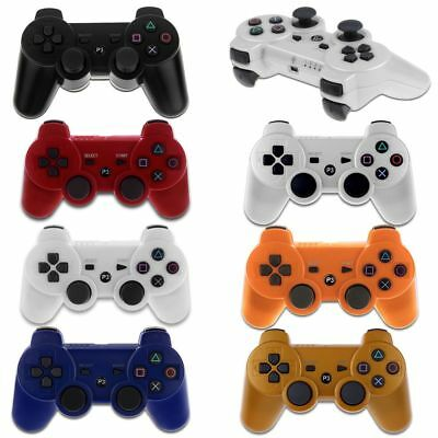 Bluetooth Wireless Game Controller Remote Dual Shock 7Color Fr PlayStation3 PS3