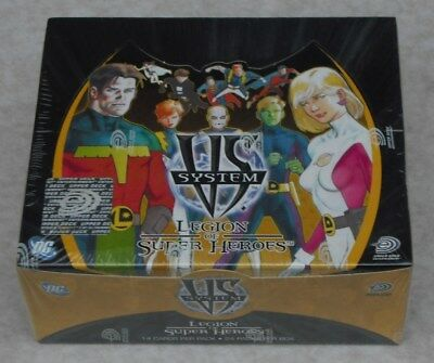 Vs System Legion Of Super Heroes 24 Pack Booster Box New & Sealed