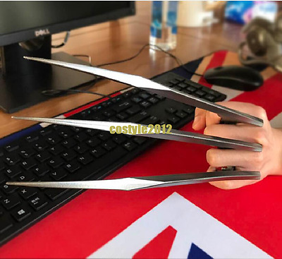 US! 2Pcs X-Men Wolverine Logan Blade Claws Paws Mens Halloween Cosplay Props HOT