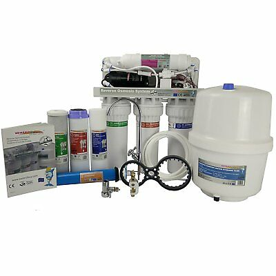 Water Filter Reverse Osmosis unit 5 Stage Water Treatment System with Pump