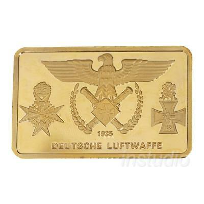 DEUTSCHE LUFTWAFFE Bomber Commemorative Coin Collection Craft Gift Gift New UK