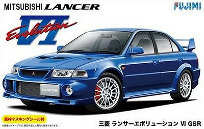 Fujimi ID-102 1/24 Model Car Kit Mitsubishi Lancer Evolution VI GSR EVO 6 CP9A