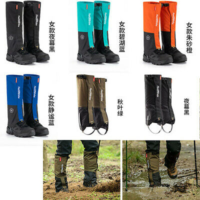 Waterproof Snow Gaiters Hiking Climbing Walking Boot Leggings Trekking Gators