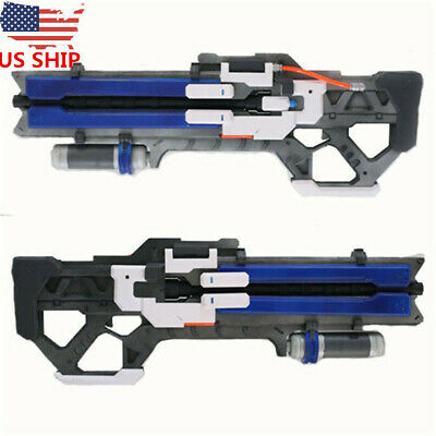 US SHIP Game OW Soldier 76 Custom Gun Weapon Halloween Cosplay Props In Box