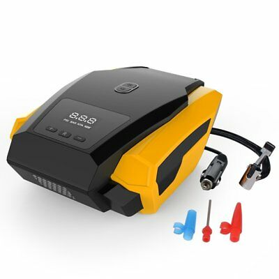12V 35L/Min Portable Air Compressor Car Tyre Inflator Pump Digital AS SEE ON TV
