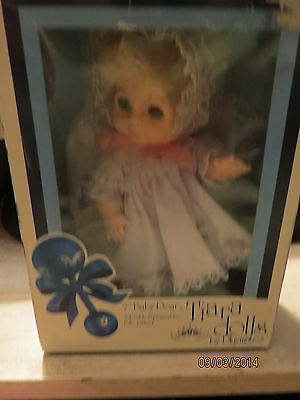 "Vintage 1981  7""  Baby Dear Tiara Doll  By Playmates, Boxed, New Condition"