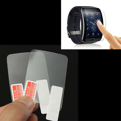 HD Screen Protector Glass Film For Samsung Galaxy Gear S r750 Smartwatch