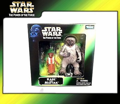 STAR WARS Power of the Force (POTF2): Kabe and Muftak (OVP)